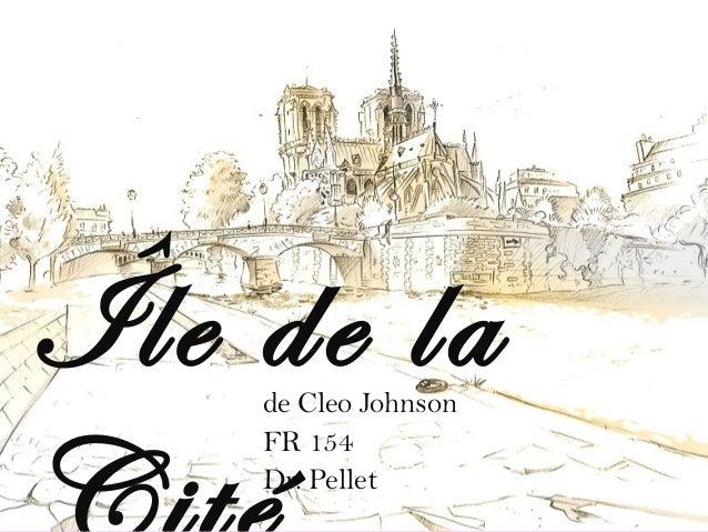 + Île de lade Cleo Johnson FR 154 Dr. Pellet