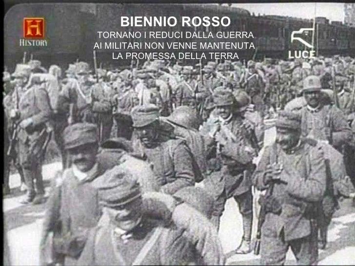 bienno rosso reason for mussolini and Magri enzo i fucilati di mussolini milano: baldini & castoldi, 305p, 2000 magri lucio räte in italien -in-neues forum maione giuseppe il bienno rosso.