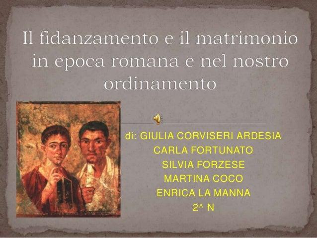 Rito Matrimonio Romano Antico : Il fidanzamento e matrimonio in epoca romana nel