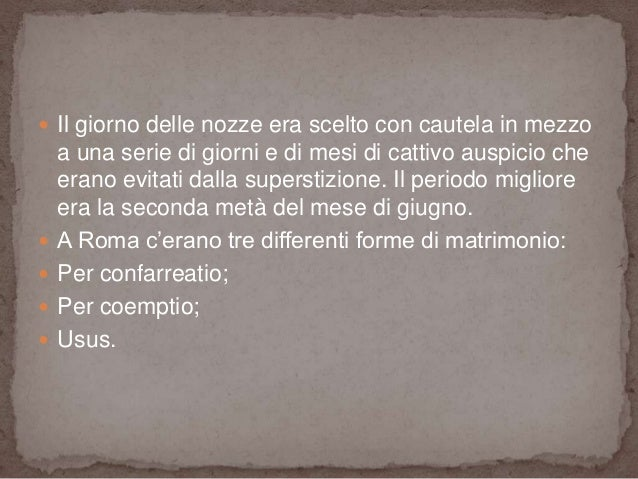 Matrimonio Epoca Romana : Il fidanzamento e matrimonio in epoca romana nel