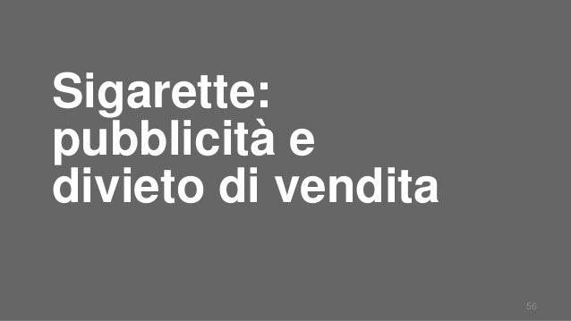 Cause di dipendenza di nicotina