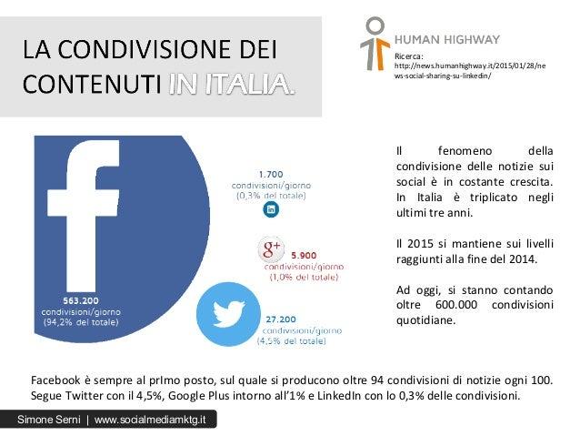 Il fenomeno della condivisione delle notizie sui social è in costante crescita. In Italia è triplicato negli ultimi tre an...