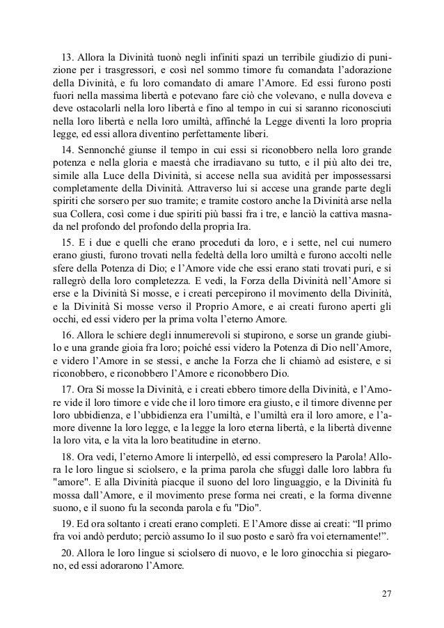Il governo della famiglia di dio volume 1 jakob lorber - La famiglia e lo specchio in cui dio si guarda ...