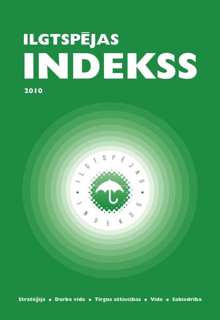 ilgtspējas indekss                                                                                                        ...