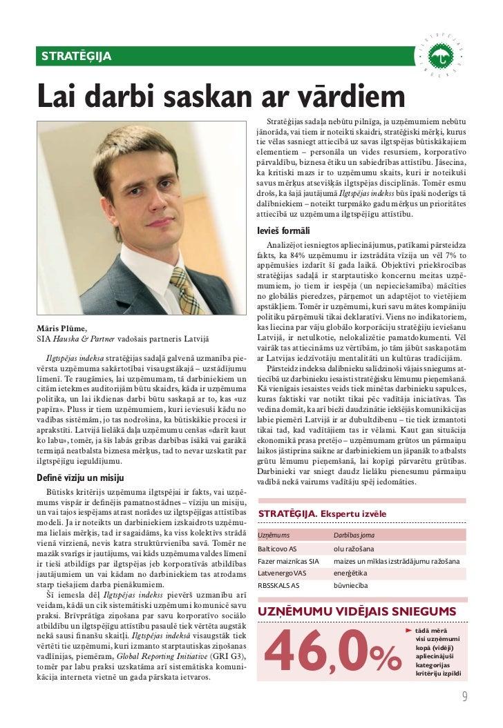 stratēģija – labākā prakse VAS Latvenergo                  dības politika, kurā noteikti                                 g...