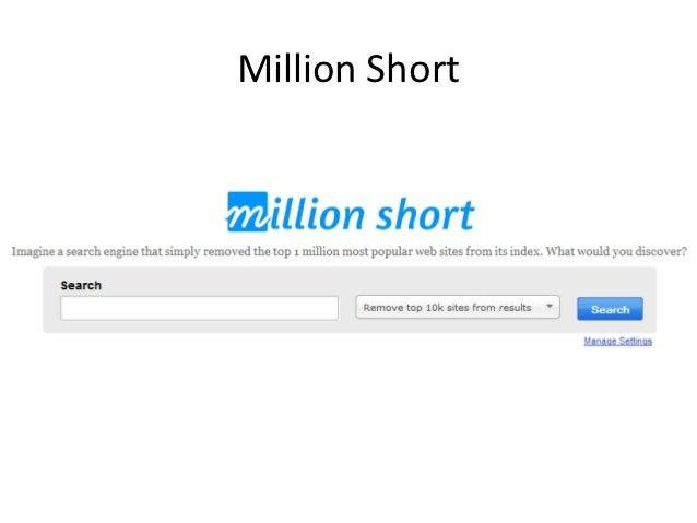 Millionshort Vs Google