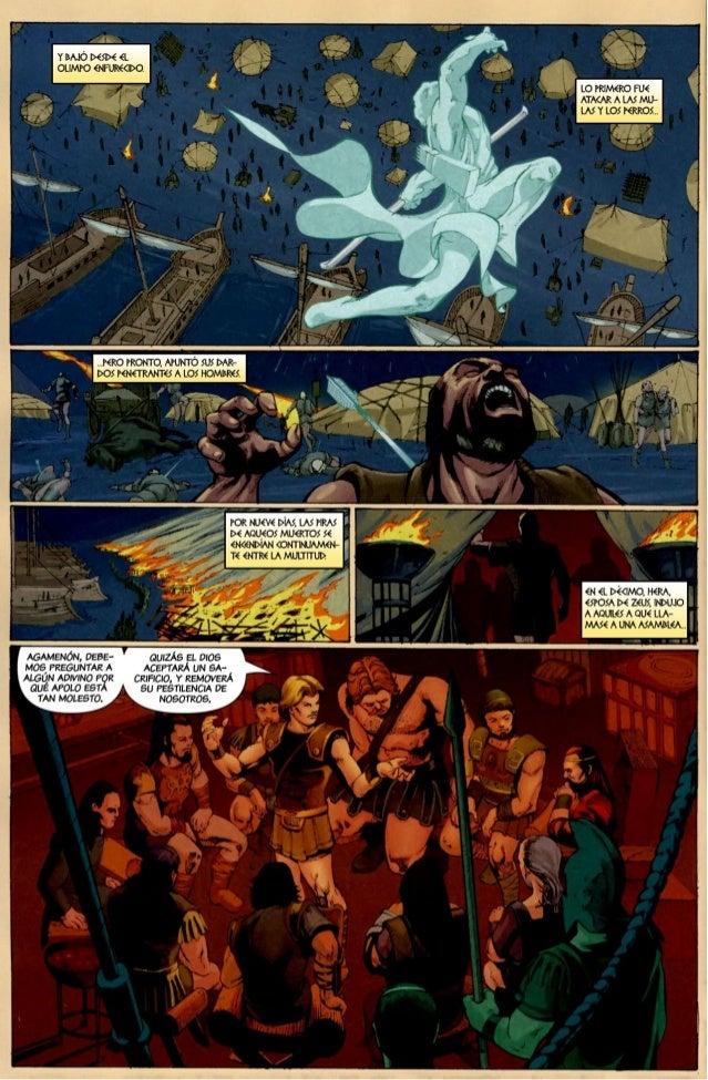 Ilíada cómic (marvel)