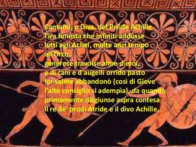 Iliade - Parafrasi di cantami o diva del pelide achille ...