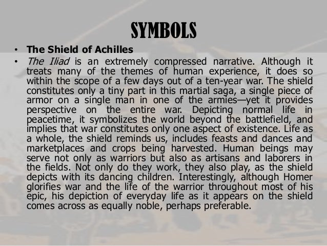 achilles shield essay