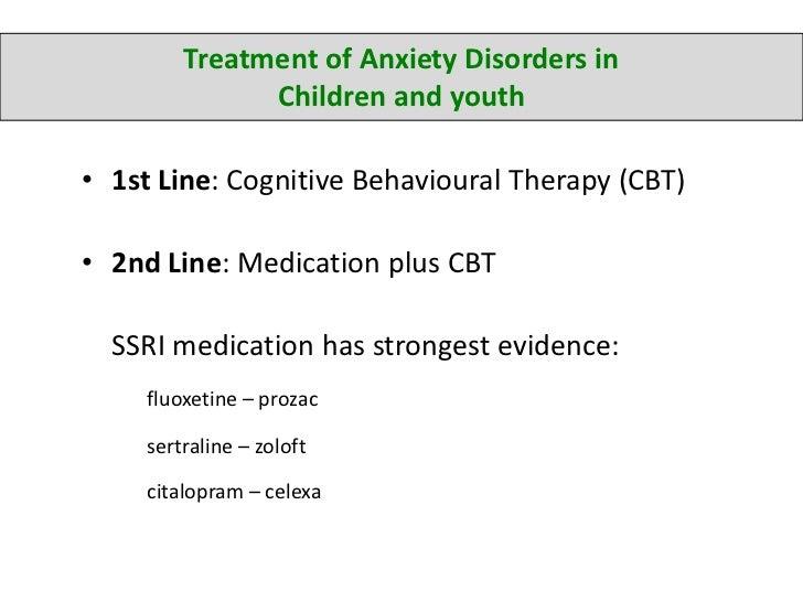 zoloft to treat anxiety in kids