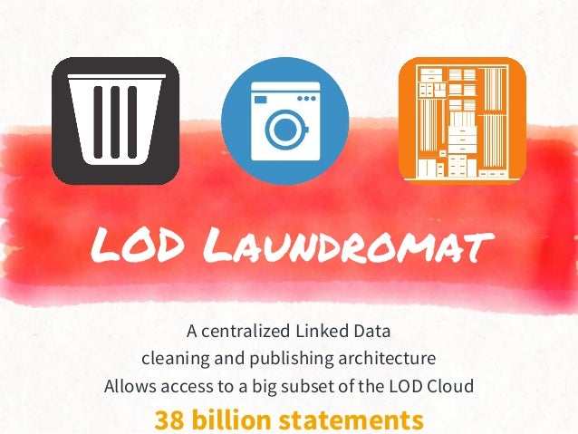 LOD Laundromat A centralized Linked Data cleaning and publishing architecture Allows access to a big subset of the LOD Clo...