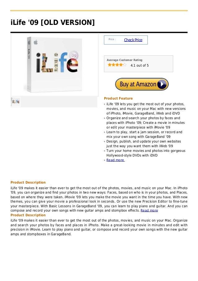 iLife 09 [OLD VERSION]                                                               Price :                              ...