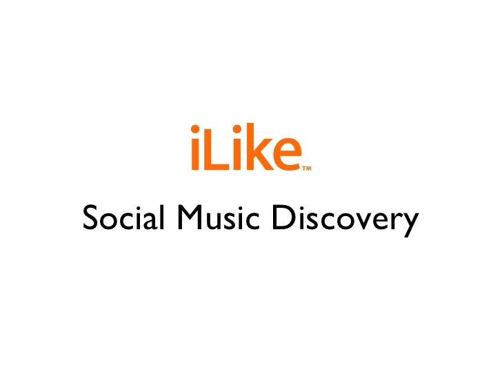 Social Music Discovery