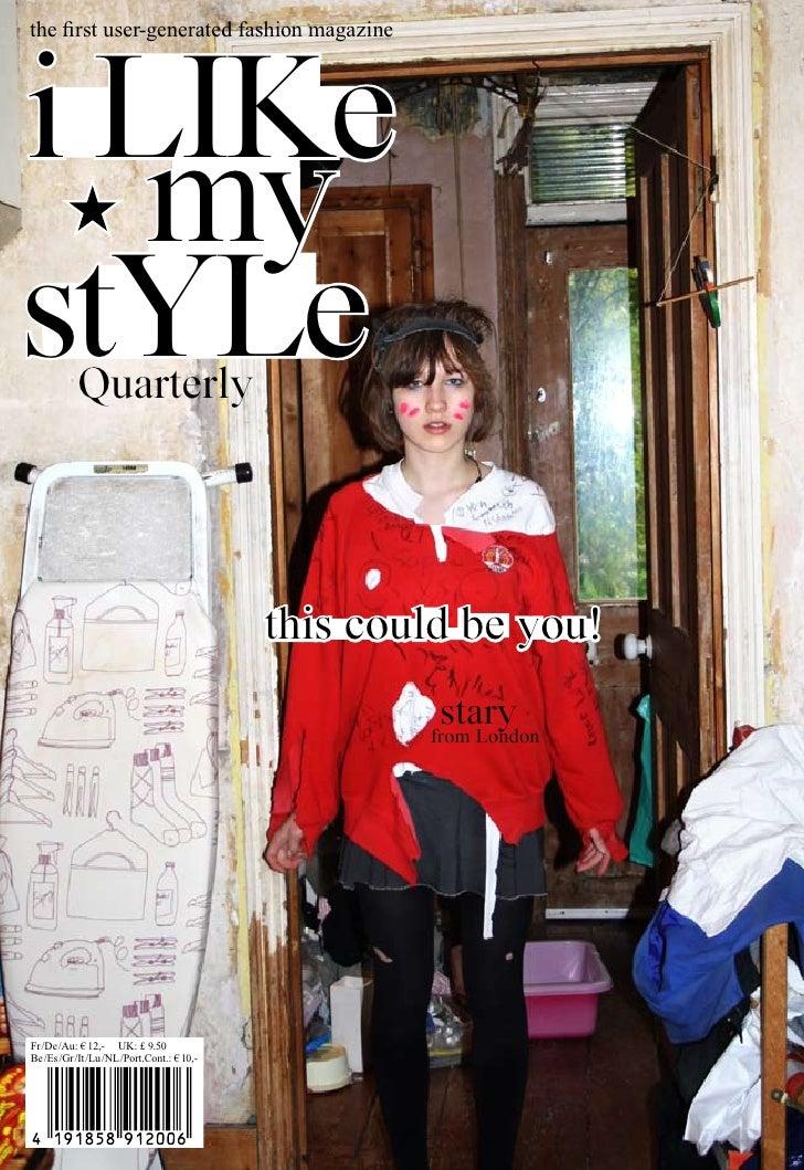 first user-generated fashion magazine the 1st People's Fashion Magazine (generated by the users of ilikemystyle.net)     i...