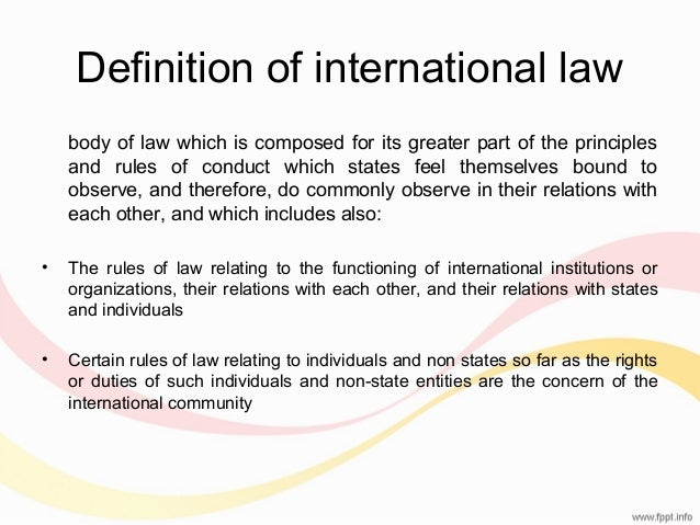 the definition and applications of international law There are no common definitions for cyber terms - they are understood to mean different things by different nations/organisations, despite prevalence in mainstream media and in national and international organisational statements given this ambiguity and regardless of caveats, the glossary aims to.