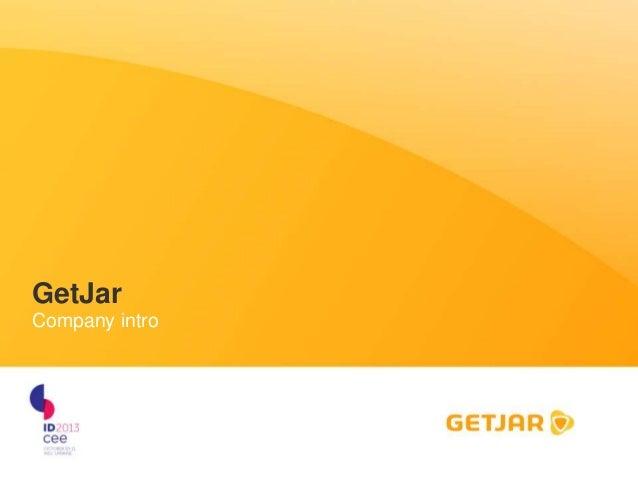 GetJar Company intro