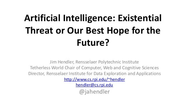 Artificial intelligence thesis