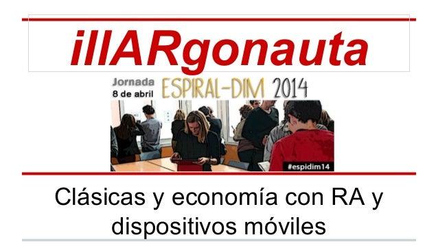 illARgonauta Clásicas y economía con RA y dispositivos móviles