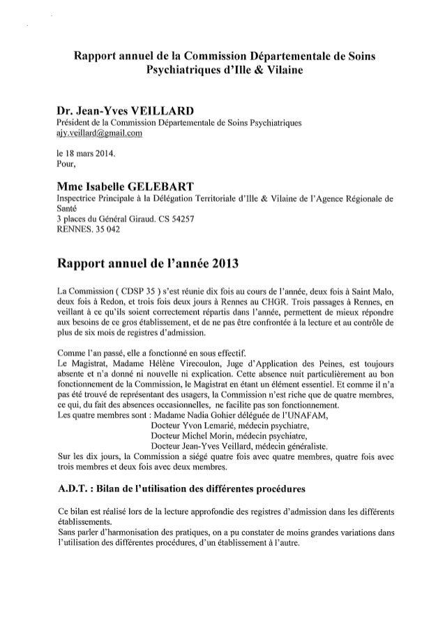 Ille et vilaine rapport annuel cdsp