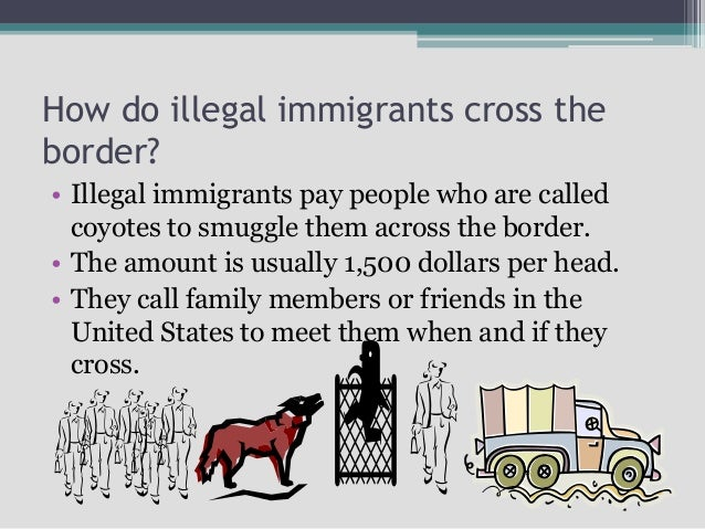 illegal immigrants come to the united The answer to this question lies in the history of this country, because the history of the united states is deeply related to immigration.