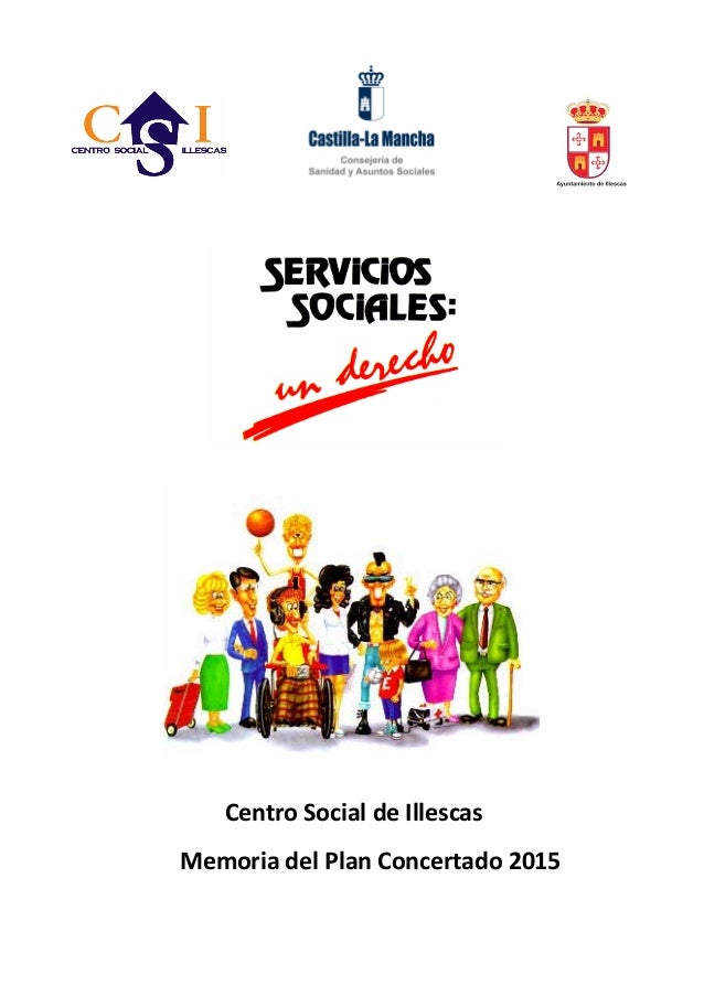 Centro Social de Illescas Memoria del Plan Concertado 2015