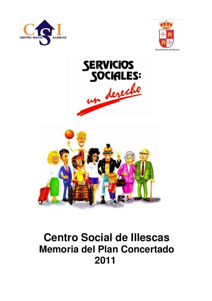 Centro Social de IllescasMemoria del Plan Concertado           2011