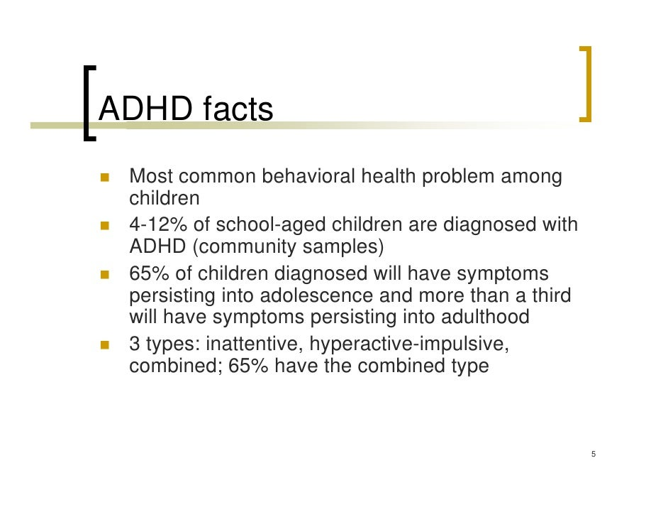 Untreated adult ADHD raises some risks