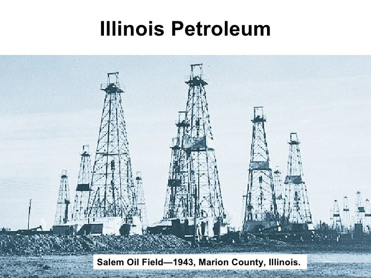 Illinois Petroleum Salem Oil Field—1943, Marion County, Illinois.