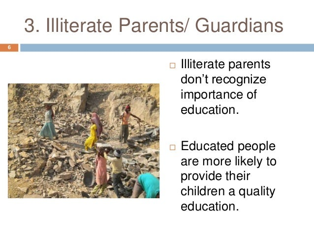 illiteracy in india Muslims in india have the highest proportion of illiterates among them while jains  are the most educated of all communities, new data from.