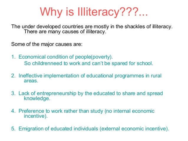 Top 10 Common Causes of Illiteracy