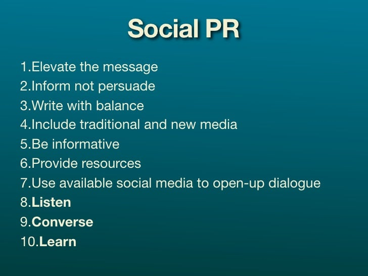 Why Social media? Engaging with customers through social media