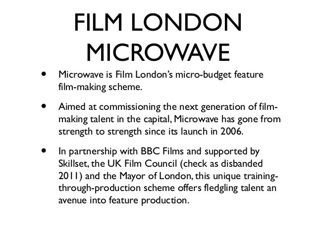 FILM LONDON        MICROWAVE•   So far, seven films have been completed through    Film London Microwave with all of them ...