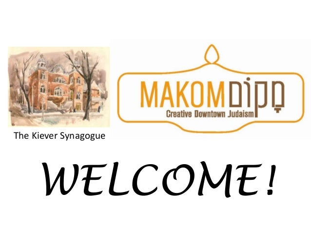The Kiever Synagogue     WELCOME!