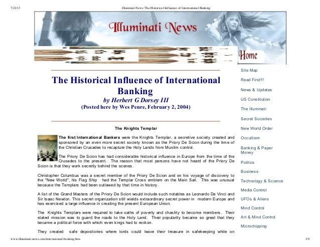 7/22/13 Illuminati News: The Historical Influence of International Banking www.illuminati-news.com/international-banking.h...