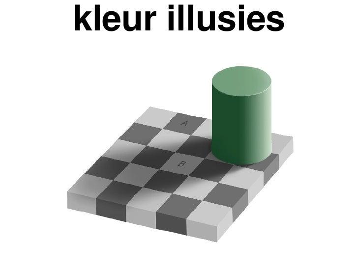 kleur illusies