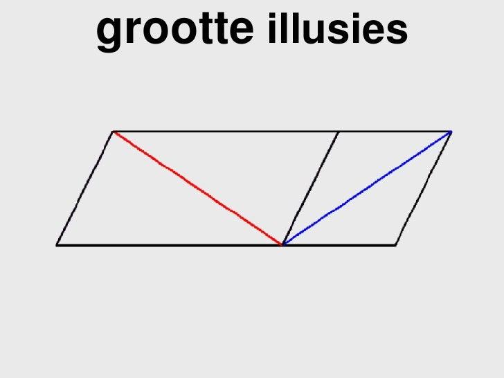 grootte  illusies