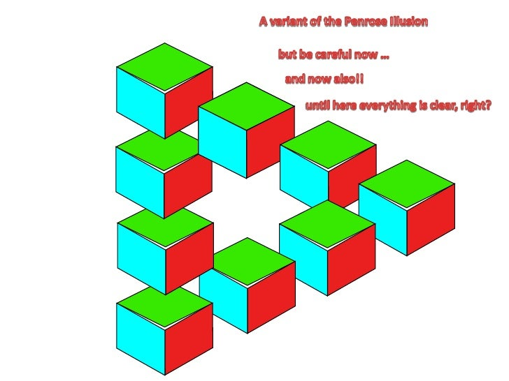 A variant of the Penrose Illusion<br />but becarefulnow …<br />andnowalso!!<br />until here everything is clear, right?<br />