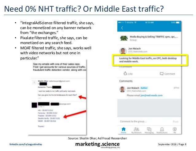 September 2016 / Page 8marketing.scienceconsulting group, inc. linkedin.com/in/augustinefou Need 0% NHT traffic? Or Middle...