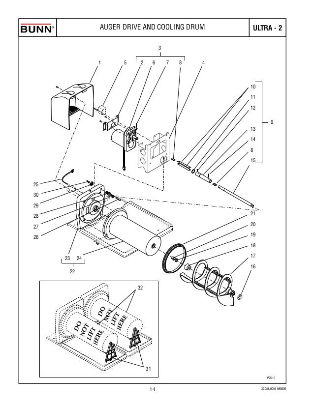320810001 011408 14: Bunn Switch Wiring Diagram At Johnprice.co