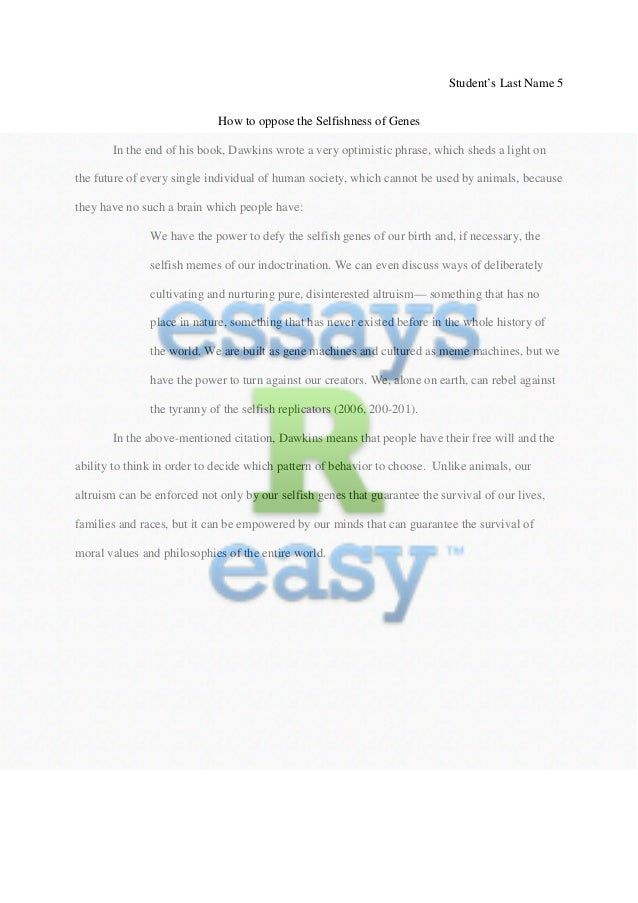 Genes And Society Essay