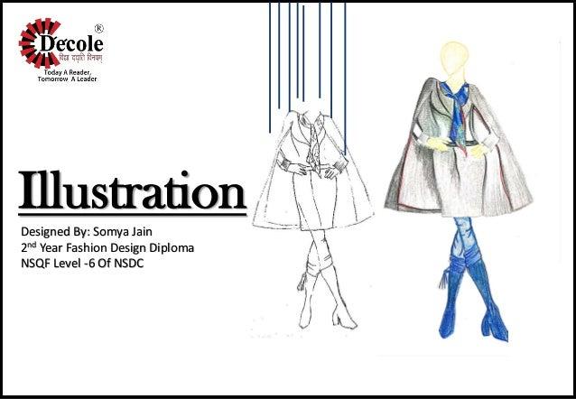 Somya Jain Diploma Fashion Design Second Year Illustration Project