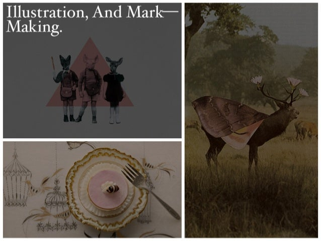 Illustration, And Mark—Making Presentation
