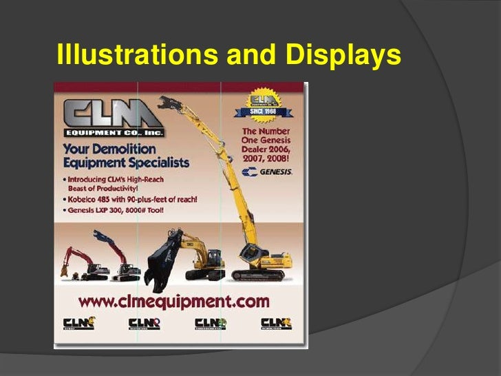 Illustrations and Displays<br />