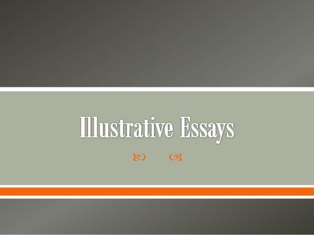 illustrative essays illustrative essays    the