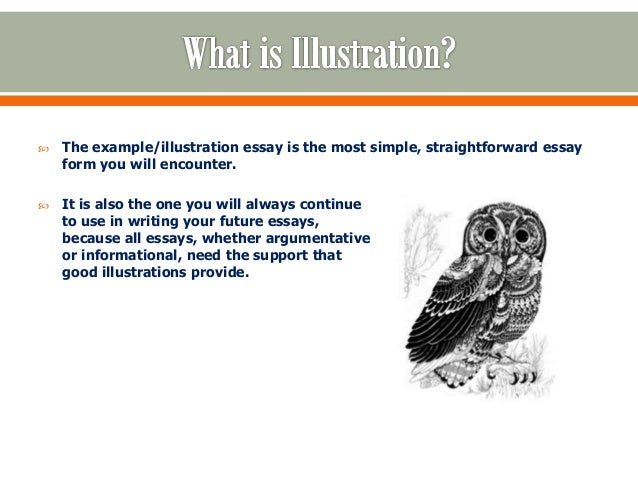 illustrative essays    the example illustration essay