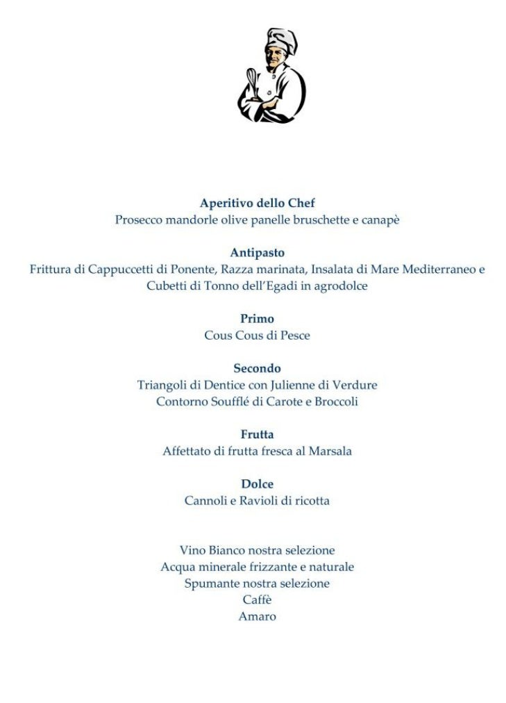 Il Menu Del Mahara Hotel  U0026 Wellness  Una Cucina D
