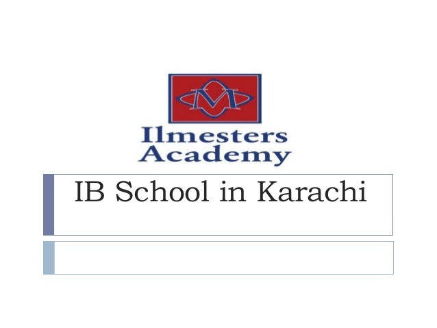 IB School in Karachi