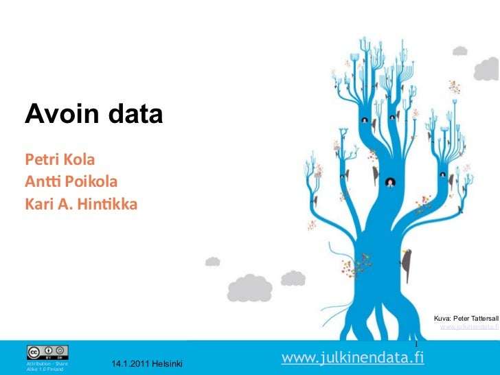 Avoin dataPetriKolaAn-PoikolaKariA.Hin1kka                                                                 Kuva: Pete...