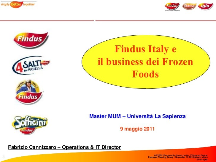 Findus Italy                                            Findus Italy e                                        il business ...