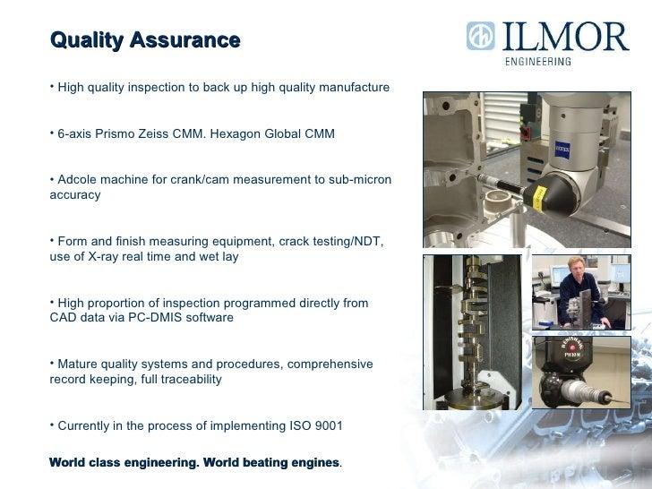 Ilmor Overview Presentation